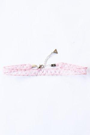 XTS Chain Lace Choker (Pink)