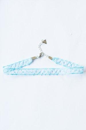 XTS Chain Lace Choker (Blue)