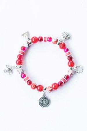 XTS China Fretwork Bracelet (Red)