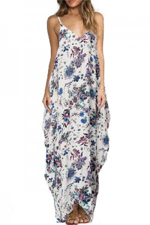 <img class='new_mark_img1' src='https://img.shop-pro.jp/img/new/icons20.gif' style='border:none;display:inline;margin:0px;padding:0px;width:auto;' />Long Summer Dress (Blue Flower)
