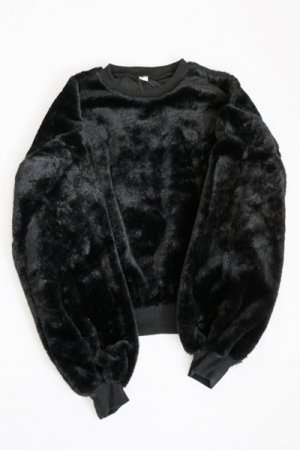All Fur Top (Black)