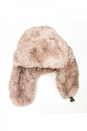 Fur Flight Cap (Biege)