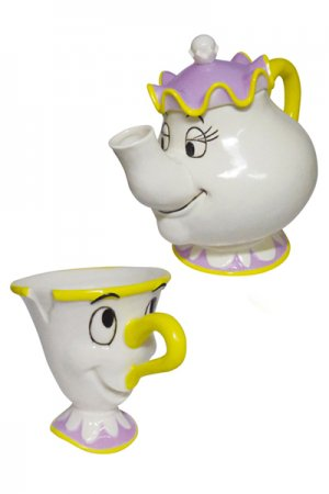 Beauty And The Beast Chip And Mrs. Potts Tea Set