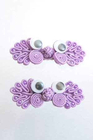 XTS Monster Hair Pin 2pcs Set (Lavender)