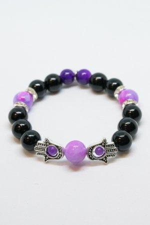 XTS Hamsa Bracelet (Pink Marble)