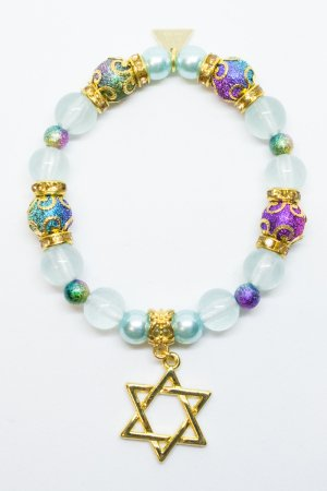 XTS Magical Hexagram Bracelet (Blue)