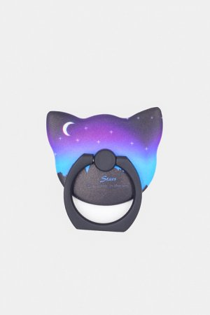 Moon Cat Ring Phone Holder