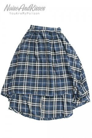<img class='new_mark_img1' src='https://img.shop-pro.jp/img/new/icons20.gif' style='border:none;display:inline;margin:0px;padding:0px;width:auto;' />Long Frill Skirt (Blue)