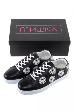 MISHKA KEEP WATCH DOT SHOES