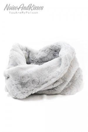 Moco Fur Snood (Gray)