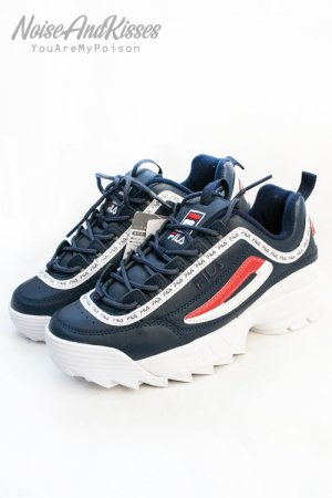 FILA DISRUPTOR PREMIUM REPEAT (NAVY)