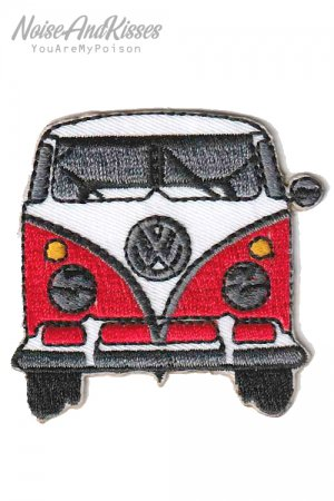 Volkswagen Car Patch (Red)