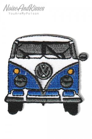 Volkswagen Car Patch (Blue)