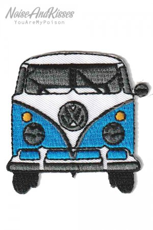 Volkswagen Car Patch (L.Blue)