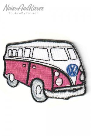 Volkswagen Car Side Patch (Pink)