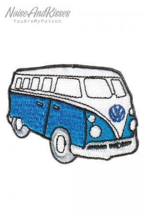 Volkswagen Car Side Patch (L.Blue)