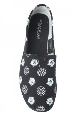 Supernatural Symbols Slip-On Shoes