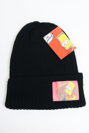 Simpsons Patch Beanie (Black)