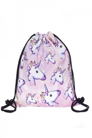 Gym Bag (Pink Unicorn)