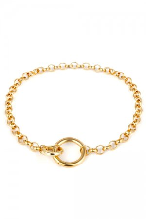 Ring Chain Choker (Gold)