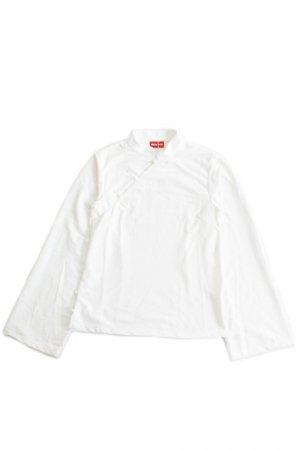 ACDC RAG China L/S Top (White)