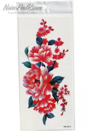Tattoo Sticker Sheet (Flower)