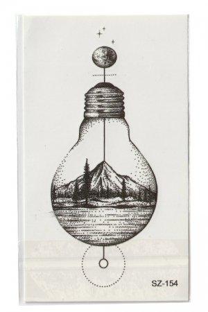 Tattoo Sticker Sheet (Bulb I)
