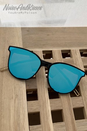 Mirror Sunglass (Blue)