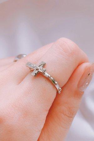 Cross Ring (Silver)