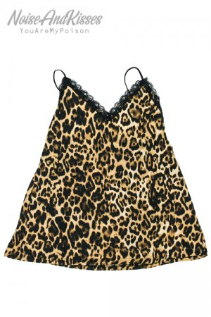 ACDC RAG Leopard Camisole Top