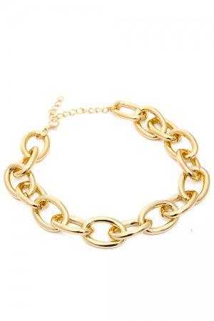Thick Chain Choker (Gold)