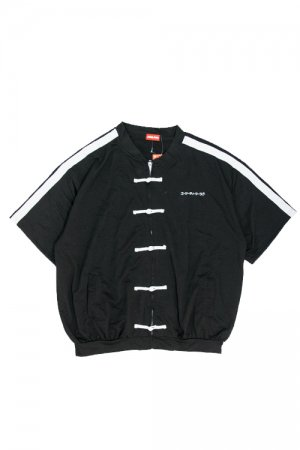 ACDC RAG Line x China Zipper Top (Black)