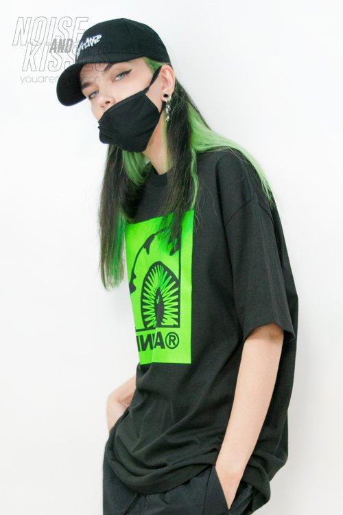 MISHKA S/S Top FM191014SS (Black)