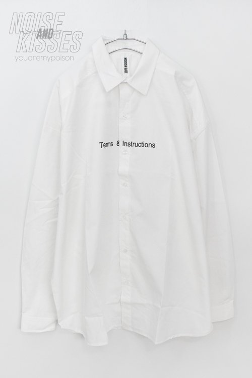 <img class='new_mark_img1' src='https://img.shop-pro.jp/img/new/icons8.gif' style='border:none;display:inline;margin:0px;padding:0px;width:auto;' />Invoice Big Silhouette L/S Shirt (White)