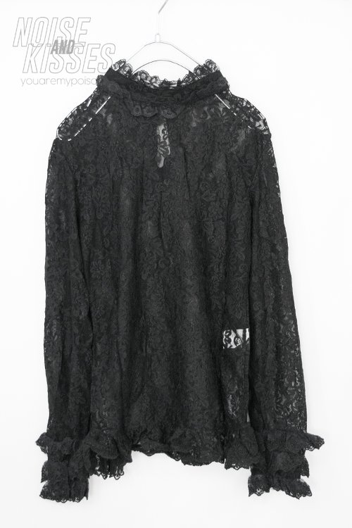 ACDC RAG Lace L/S Top (Black)