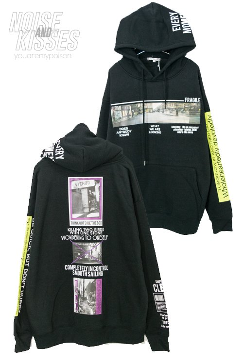 <img class='new_mark_img1' src='https://img.shop-pro.jp/img/new/icons8.gif' style='border:none;display:inline;margin:0px;padding:0px;width:auto;' />Photo Decoration Men Pullover Hoodie (Black)