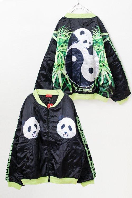 <img class='new_mark_img1' src='https://img.shop-pro.jp/img/new/icons56.gif' style='border:none;display:inline;margin:0px;padding:0px;width:auto;' />ACDC RAG Printed Light Jacket (Panda Black)