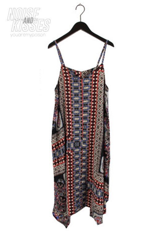 <img class='new_mark_img1' src='https://img.shop-pro.jp/img/new/icons8.gif' style='border:none;display:inline;margin:0px;padding:0px;width:auto;' />Scarf Asymmetry Camisole Dress (Black)