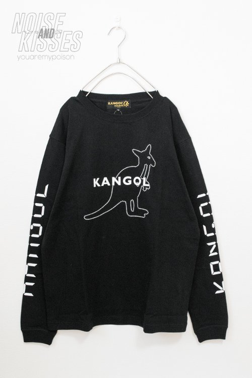KANGOL Digital Logo L/S T-shirt (Black)