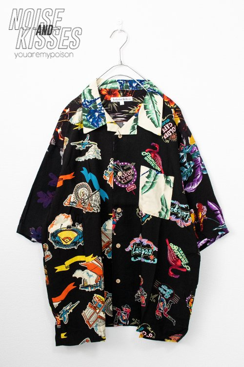 <img class='new_mark_img1' src='https://img.shop-pro.jp/img/new/icons56.gif' style='border:none;display:inline;margin:0px;padding:0px;width:auto;' />Open Collar Mens Aloha S/S Shirt (Mix)