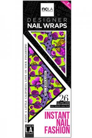 ncLA NAIL WRAPS BERRY BLASTOFF
