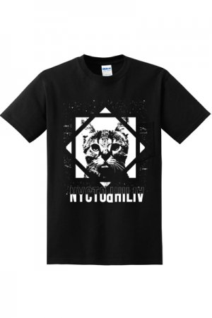 <img class='new_mark_img1' src='//img.shop-pro.jp/img/new/icons20.gif' style='border:none;display:inline;margin:0px;padding:0px;width:auto;' />Nyctophilia Clothing Cult Cat T-shirt