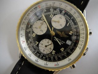 ブライトリング ナビゲーター オートマチッククロノグラフ ヴィンテージ腕時計 B13019