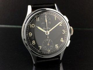 ブライトリング ヴィンテージ 男性用 クロノグラフ腕時計 1940年代 中古