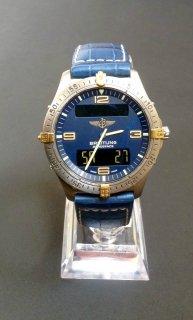 ヴィンテージ ブライトリング エアロスペースF56062 クロノグラフ マルチファンクション 男性用腕時計