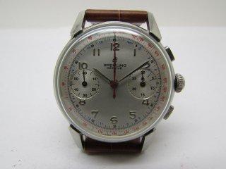 ヴィンテージ ブライトリング クロノグラフ ヴィーナス188 ホワイトダイヤル 男性用腕時計