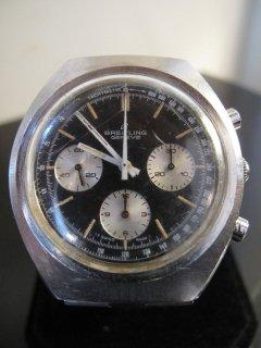 ヴィンテージ ブライトリング 3レジスター クロノグラフ Ref.1450 パンダダイヤル1973年頃 中古