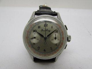 ヴィンテージ 40年代 ブライトリング クロノグラフ 2レジスター 手巻き 男性用腕時計