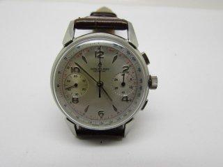 ヴィンテージ ブライトリング クロノグラフ ヴィーナス188 17ジュエル 手巻き 男性用腕時計