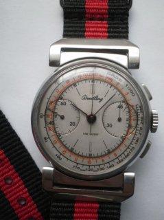 ブライトリング 男性用腕時計 クロノグラフ スイス ヴィーナス175 パイロット ヴィンテージ
